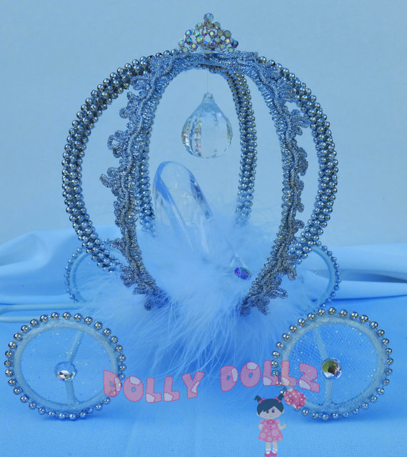 9 Quince Cakes With Princess Carriage Photo Cinderella Carriage