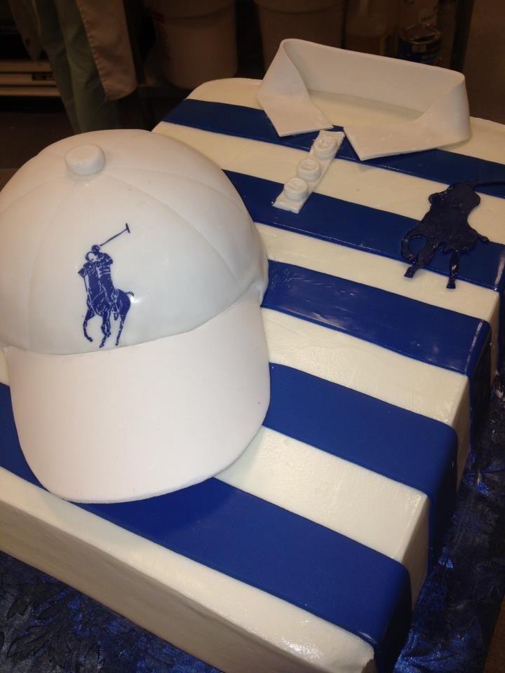 8 Pink Polo Hat Cakes Photo Ralph Lauren Polo Shirt Cake Polo