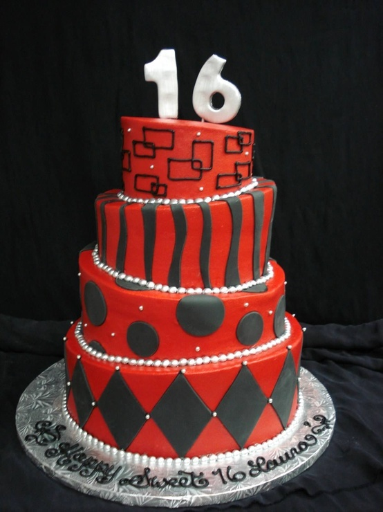 6 16 Year Old Birthday Cakes For Boys Photo 16 Birthday Cake Ideas