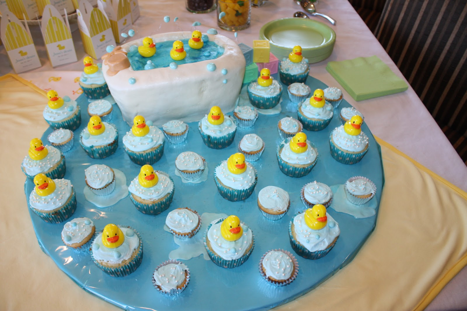 Rubber Duck Baby Shower Ideas
