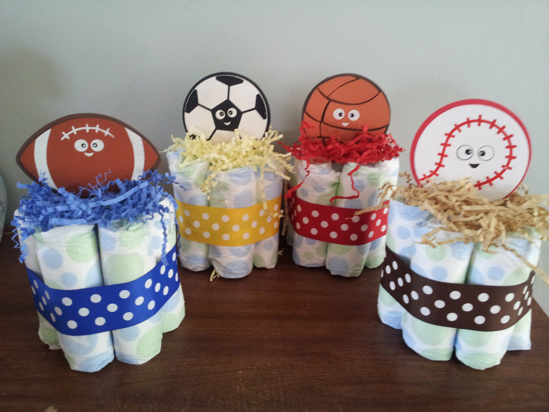 Sports Themed Baby Shower Cake - Image Bathroom 2017