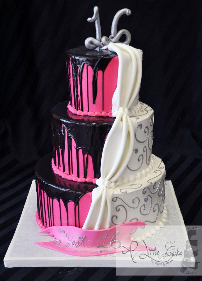9 Cool Sweet 16 Cakes Photo Sweet 16 Birthday Cake Ideas for Girls