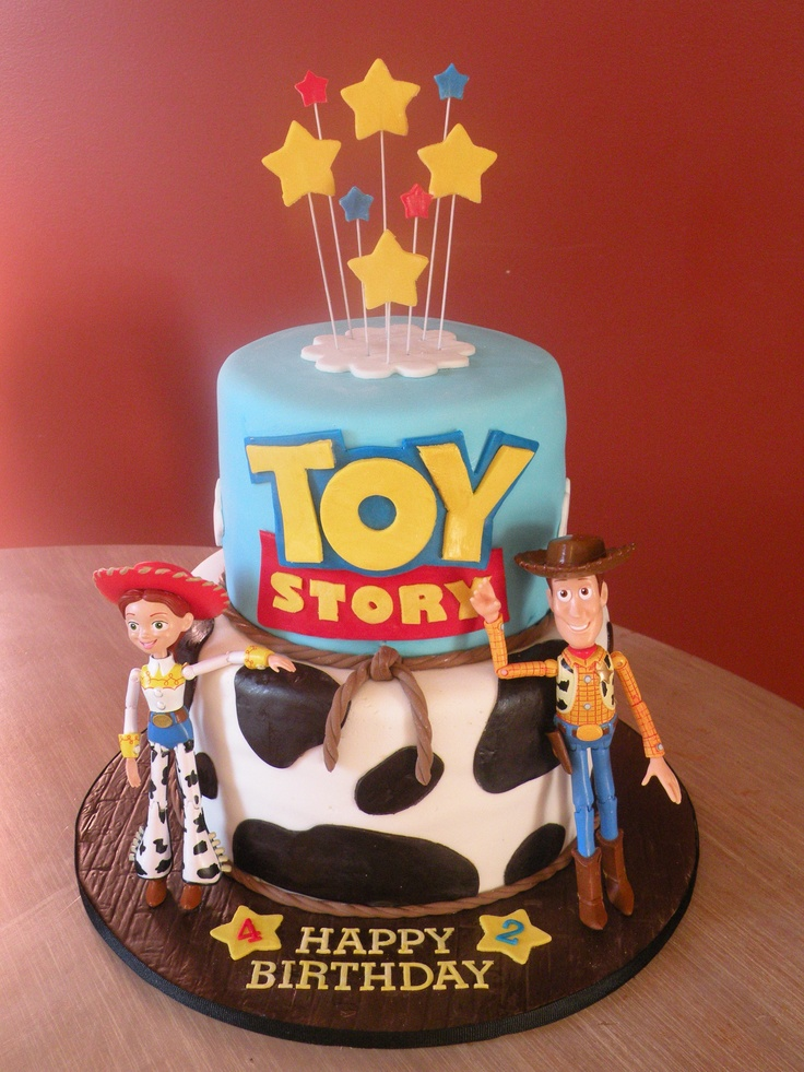 Toy Story Jessie Birthday Cake
