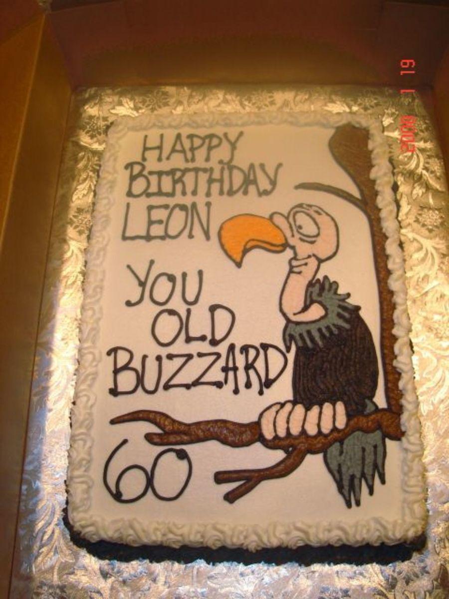 Turning 60 Birthday Cake Ideas For Men