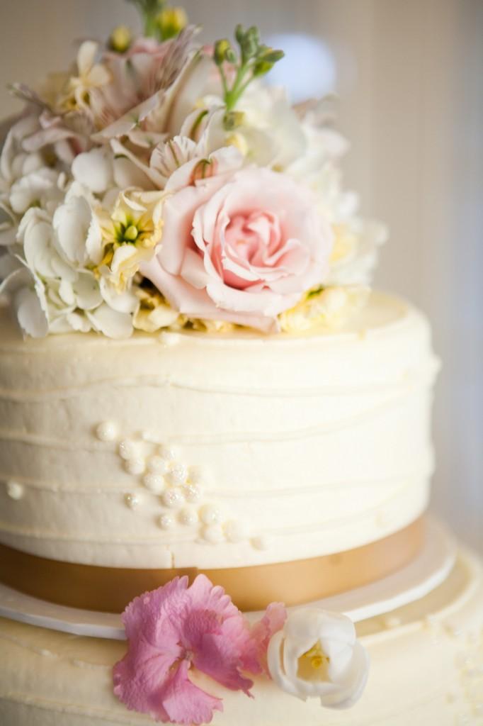 12 Buttercream Wedding Cakes Without Icing Photo - Wedding Cakes ...