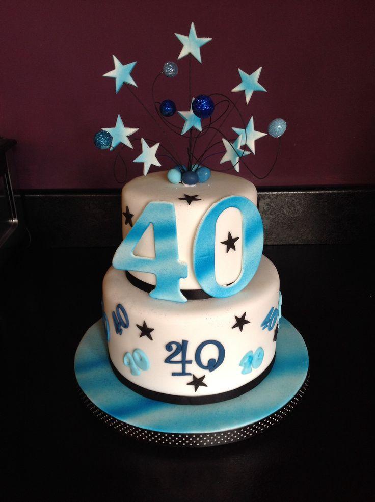 40th Birthday Man Cake