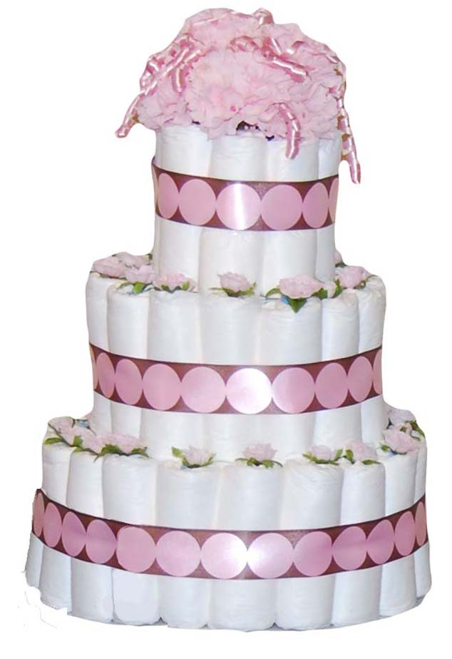 13 Directions For Diaper Cakes For Baby Showers Photo Bathtub