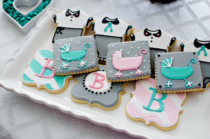 8 Chanel Baby Shower Cupcakes Photo Coco Chanel Baby Shower Party