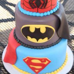 DC Comics Birthday Cake