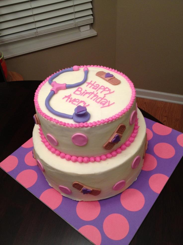 Remarkable 11 Cute Doc Mcstuffins Cakes Photo Doc Mcstuffins Birthday Cake Funny Birthday Cards Online Amentibdeldamsfinfo