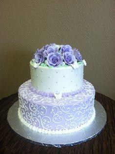 Elegant 80th Birthday Cakes