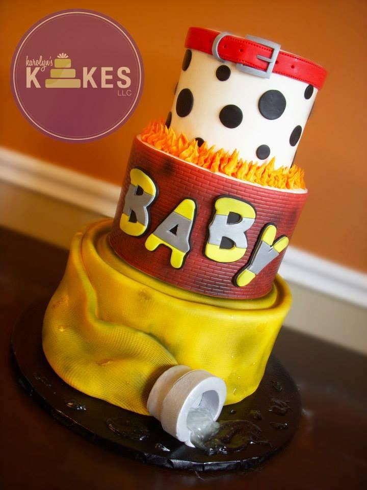 ... Firefighter Baby Shower Cake ...