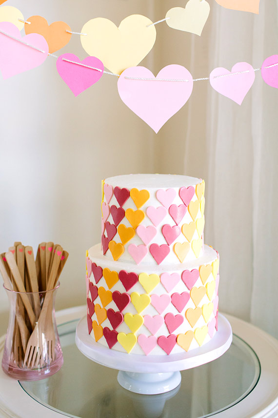 9 Cute Heart Birthday Cakes Photo Heart Birthday Cake Pink Heart