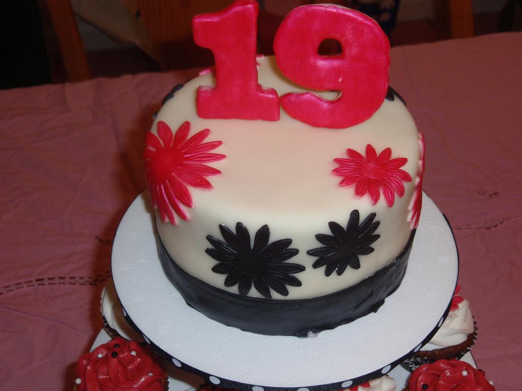 Happy 19th Birthday Cake