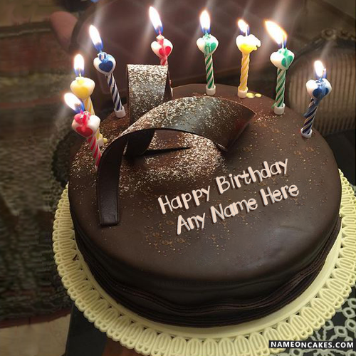 Happy Birthday Cake With Candles Images
