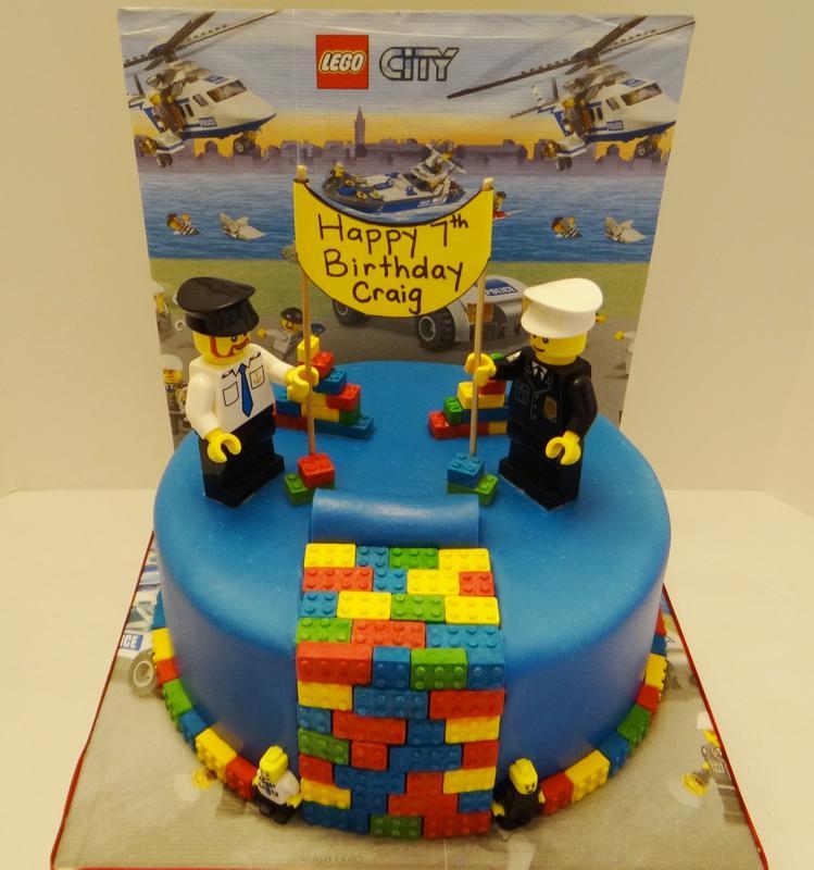 11 Safeway Cakes LEGO Photo LEGO Ninjago Birthday Cake LEGO