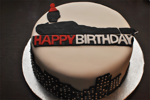 Mad Men Birthday Cake
