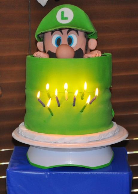 Outstanding 7 Mario And Luigi Birthday Cakes Photo Mario And Luigi Birthday Funny Birthday Cards Online Unhofree Goldxyz