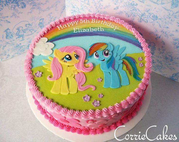 My Little Pony Sheet Cake 11 Corries Cakes Unicorn Photo Birthday Party