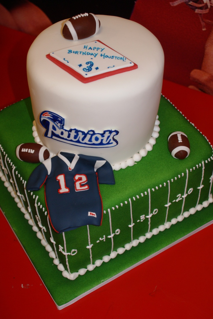 10 Jets Vs Patriot Bday Cakes Photo Patriots Birthday Cake New