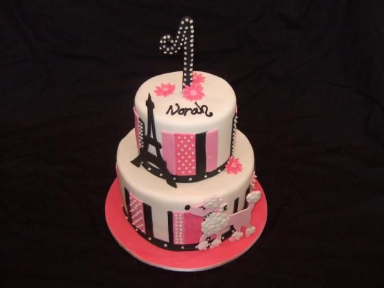 Strange 13 Cute Paris Cakes Photo Paris Theme Birthday Cake Paris Funny Birthday Cards Online Fluifree Goldxyz
