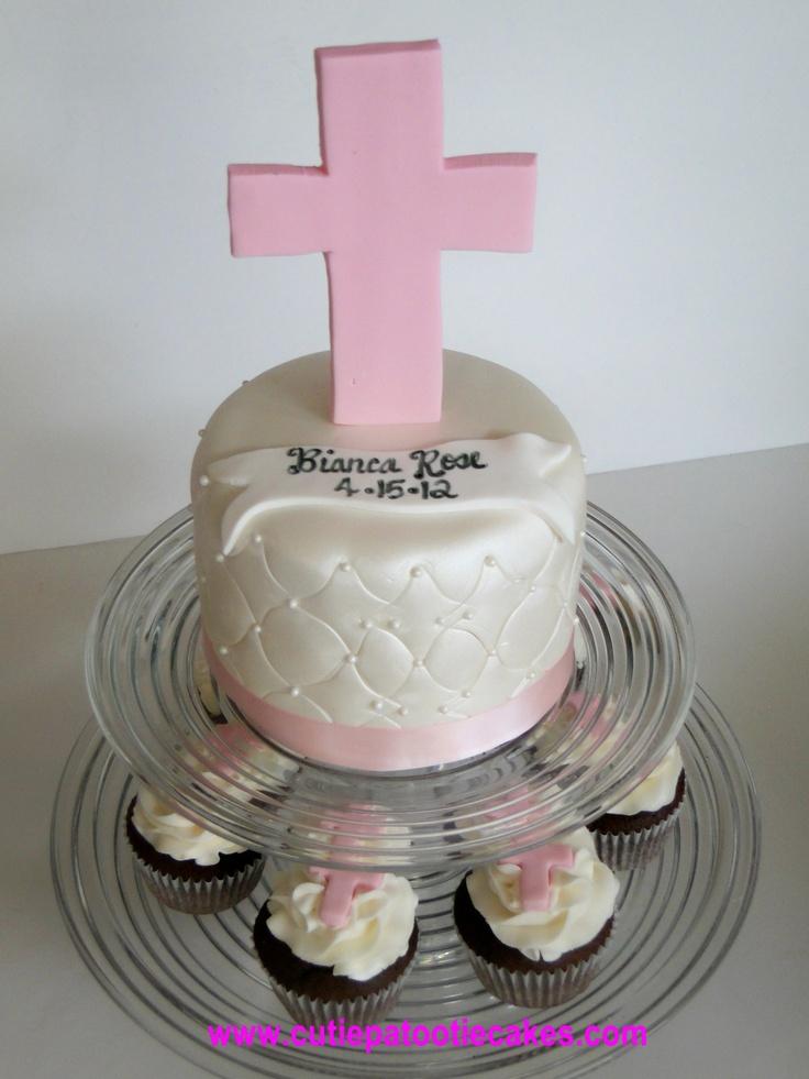 10 Christening Cakes Pinterest Photo - Boy Baptism Cake
