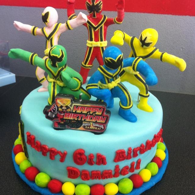9 Power Rangers Birthday Cakes Brookshires Photo Birthday Cake