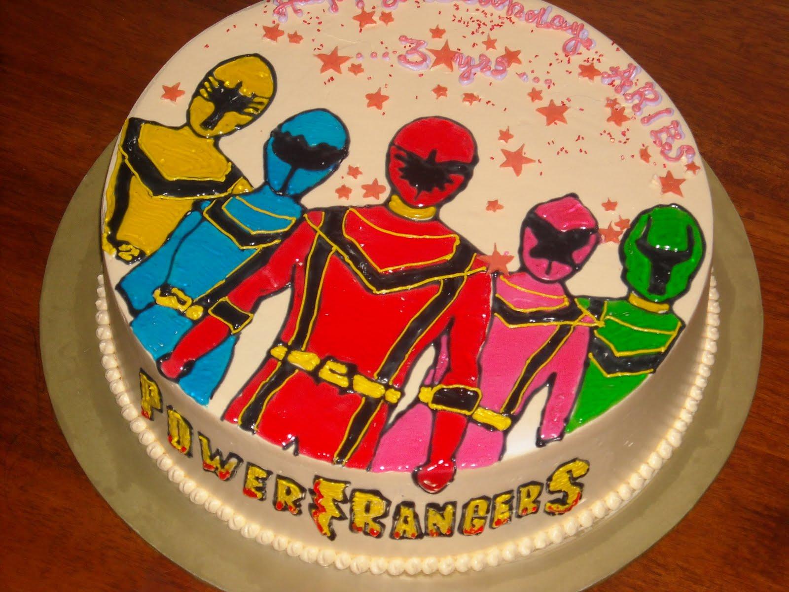 Swell 9 Power Rangers Birthday Cakes Brookshires Photo Birthday Cake Funny Birthday Cards Online Alyptdamsfinfo