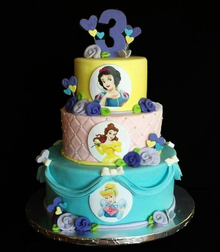 8 Disney Princess Cakes For Little Girls Photo Princess Birthday