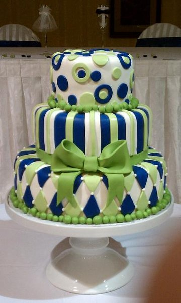 11 Royal Blue And Green Wedding Cakes Photo - Royal Blue and Green ...