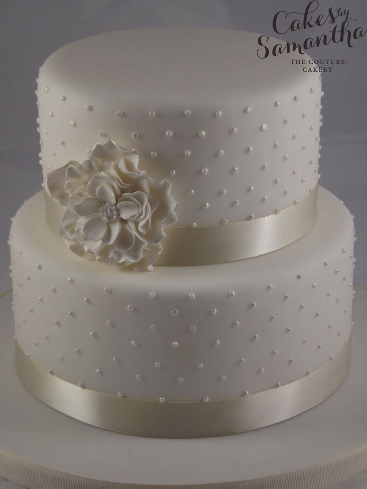 11 small simple 2 tier wedding cakes photo simple 2 tier wedding small 2 tier wedding cakes junglespirit Image collections