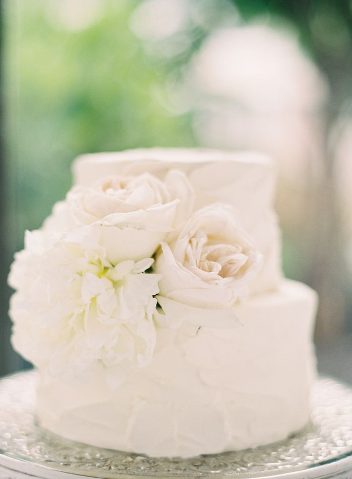 11 Small Simple 2 Tier Wedding Cakes Photo - Simple 2 Tier Wedding ...
