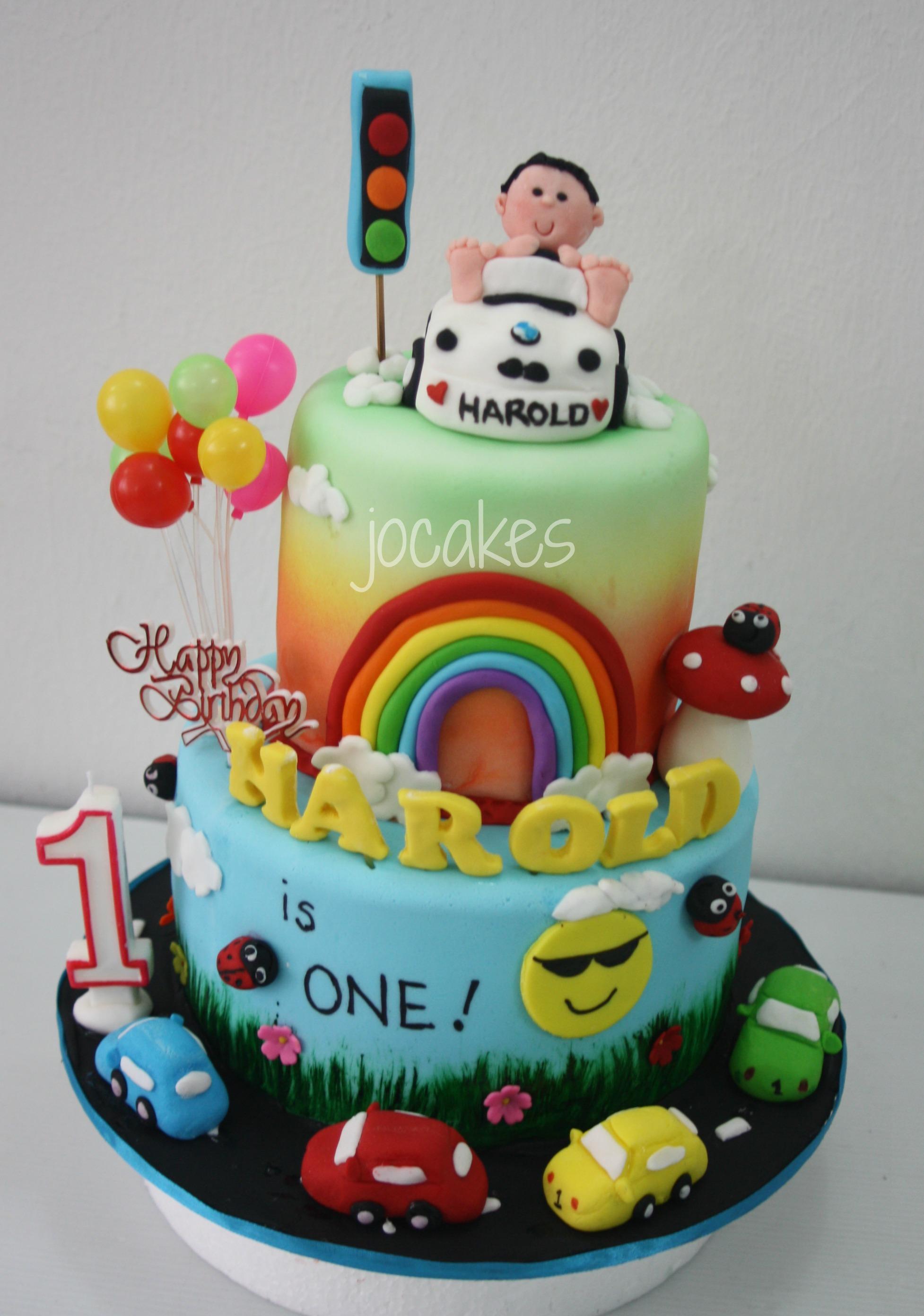 1 Year Old Boy Birthday Cake