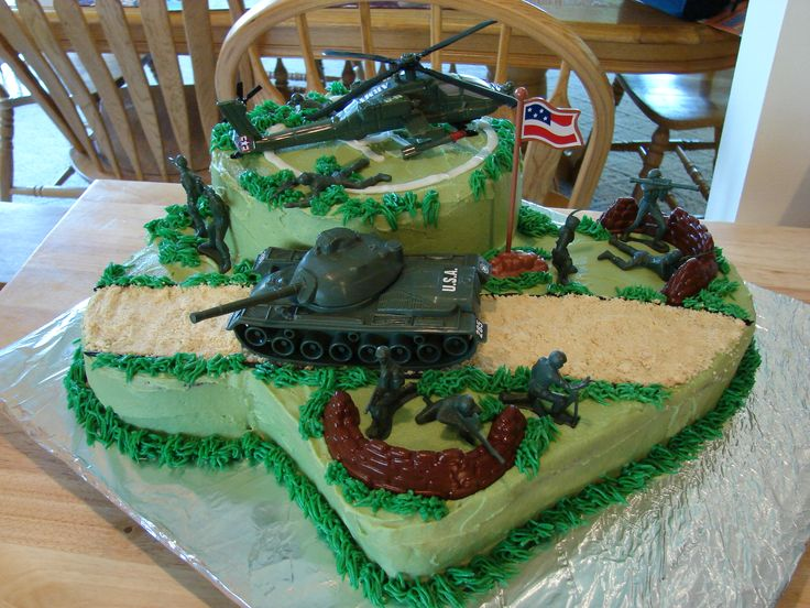5 Military Birthday Cakes For A 9 Year Old Boys Photo 9 Year Old