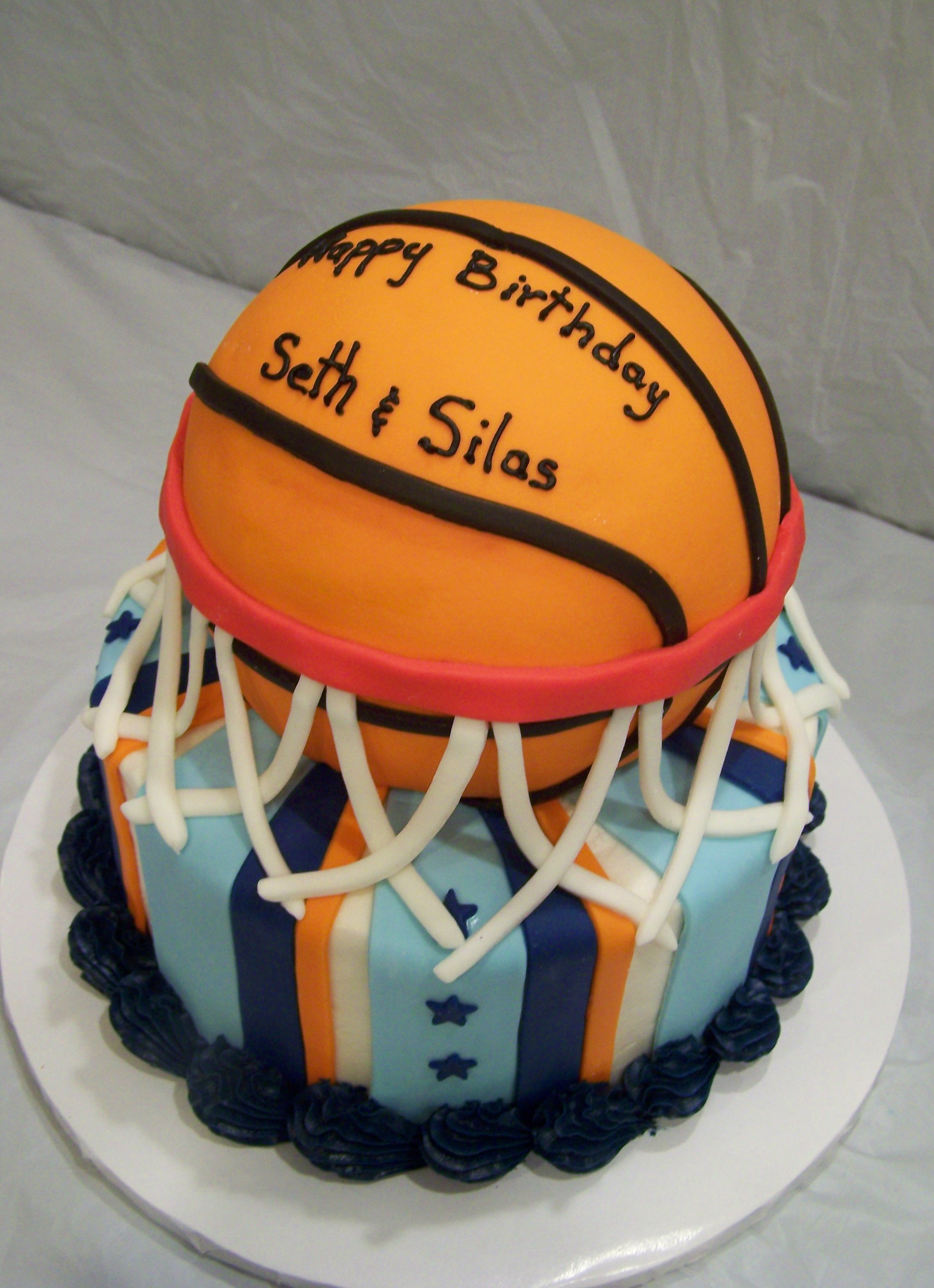 9 Basketball Mini Cakes Photo Basketball Cupcakes Basketball Cake