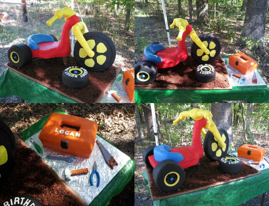 11 Big Wheels Cakes Photo Big Wheel Diaper Cake Big Wheel Diaper