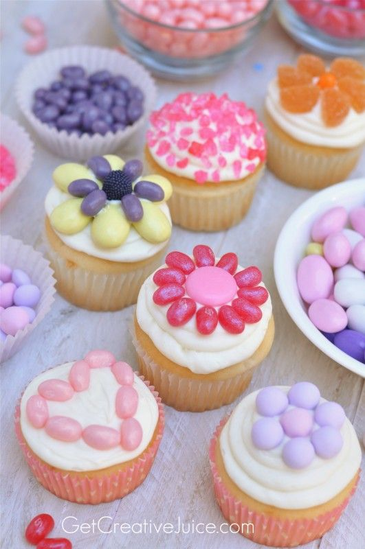 5 Easy Way To Decorate Cupcakes For Kids Photo Cupcakes With Jelly