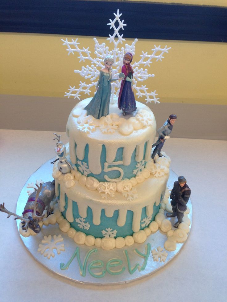 8 Disney Frozen Birthday Cakes Kroger Photo