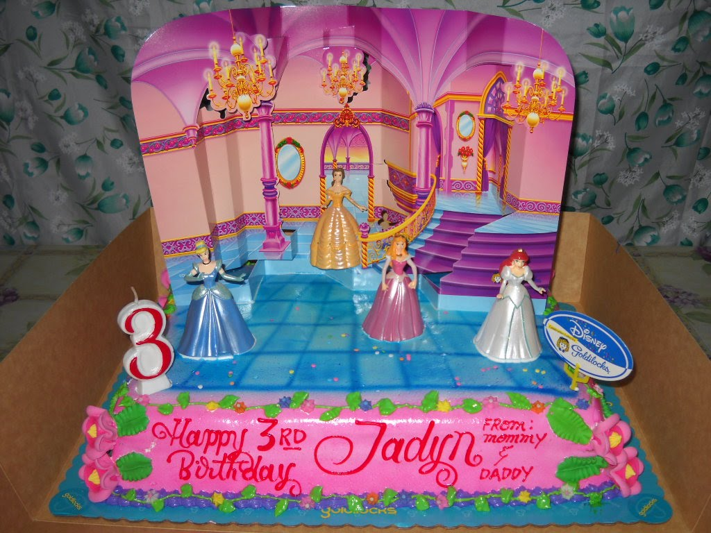 Disney Princess Cake Goldilocks