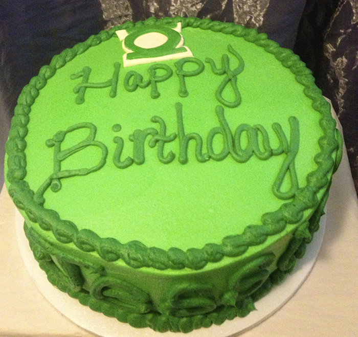 Outstanding 10 Green Girl Cakes For Birthdays Photo Pink And Green Wedding Personalised Birthday Cards Veneteletsinfo