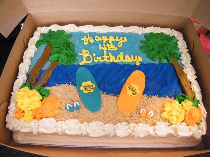 Hawaiian Luau Sheet Cake Ideas: Hawaiian Birthday Sheet Cakes At Alzheimers-prions.com
