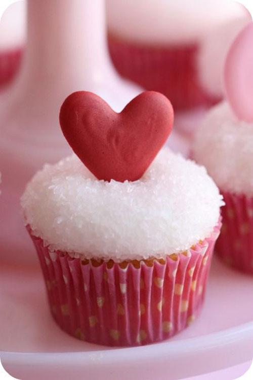 8 Valentine Cupcakes Com Photo Valentine Cupcakes Heart