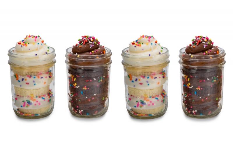 Superb 11 Girls Birthday Cupcakes In A Jar Photo Cupcake Birthday Cake Funny Birthday Cards Online Fluifree Goldxyz