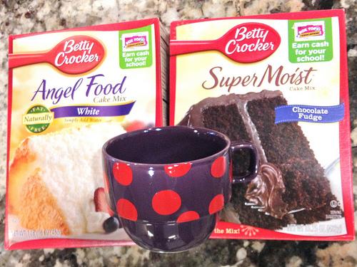 Microwave Angel Food Cake Mix