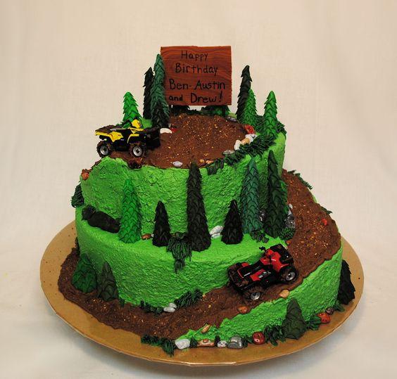 Outstanding 10 Mudding Cakes For Boys Photo Mud Riding Birthday Cake Funny Birthday Cards Online Aboleapandamsfinfo