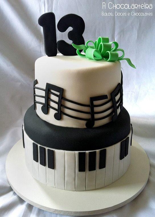 13 Cakes For Musician Photo Music Themed Wedding Cake Birthday