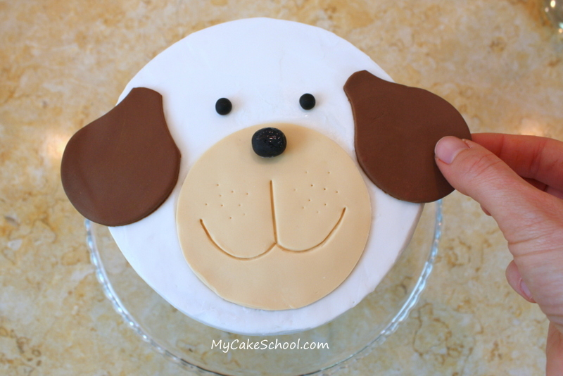 10 Easy To Make Doggy Cakes Photo Easy Dog Shaped Birthday Cake
