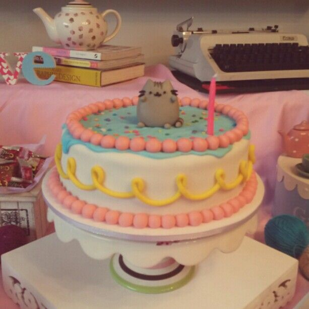 Pusheen Cat Birthday Cake Ideas