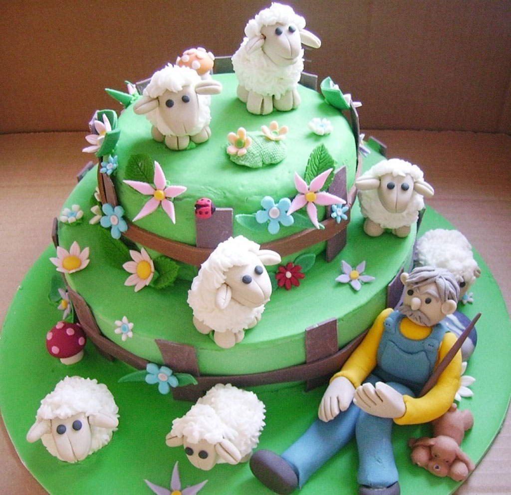 Amazing 6 Sheep Birthday Cupcakes Photo Sheep Cupcake Birthday Cake Funny Birthday Cards Online Benoljebrpdamsfinfo
