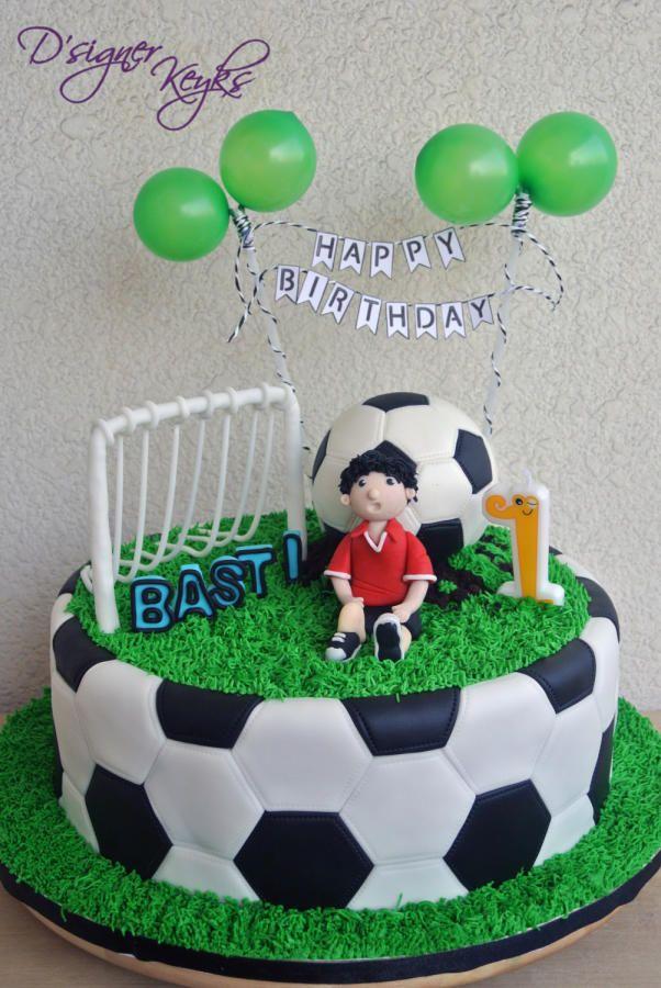 9 Football Themed Birthday Cakes Soccer Photo Soccer Theme